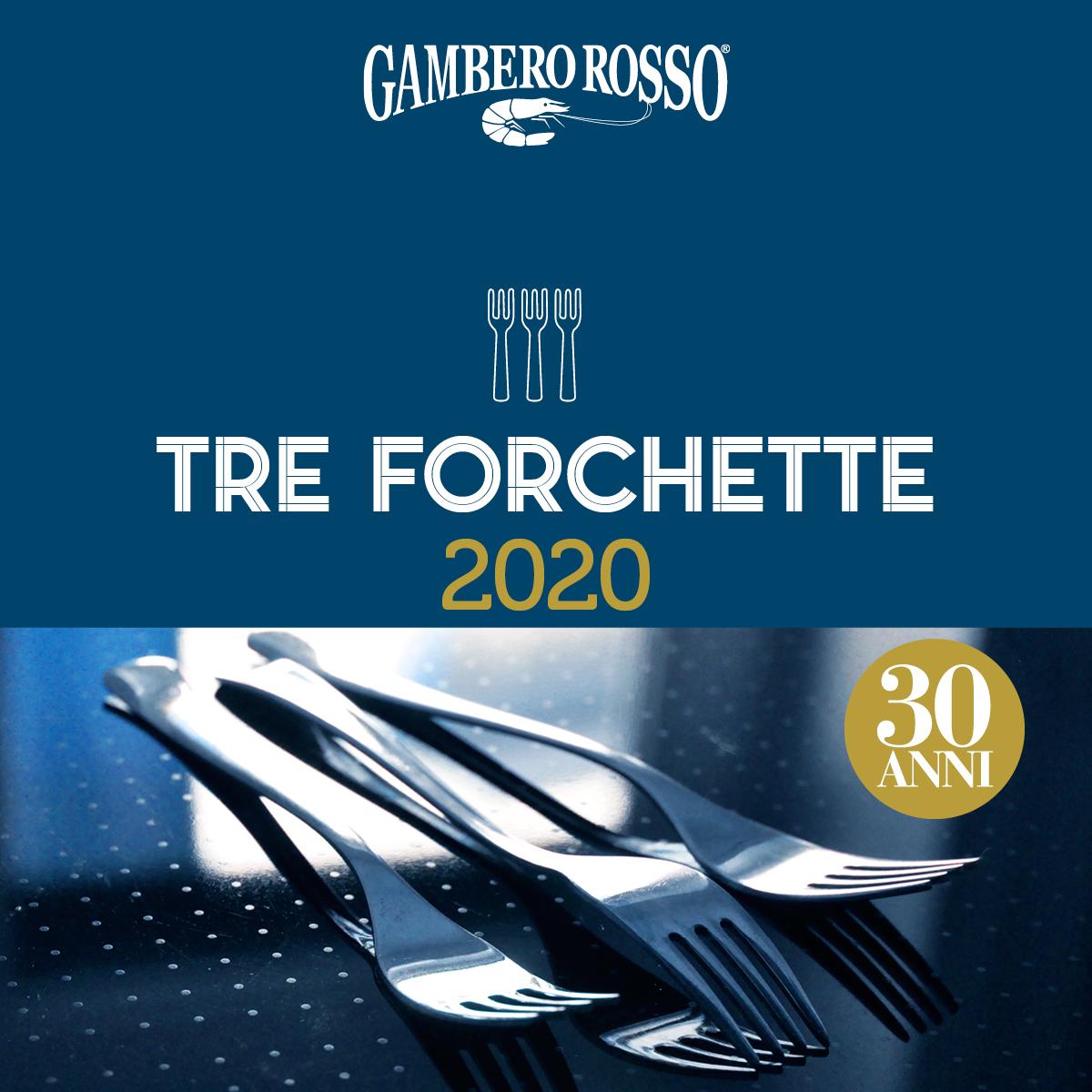 Cena Tre Forchette 2020 del Gambero Rosso: programma e ...
