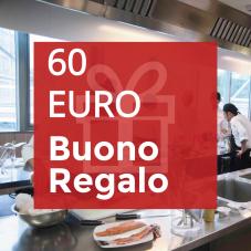 Buono Regalo 60 euro 2021